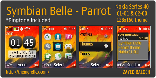 Symbian Belle theme