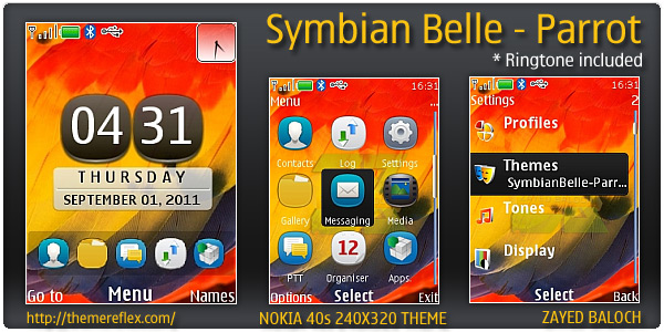 Symbian Belle themes