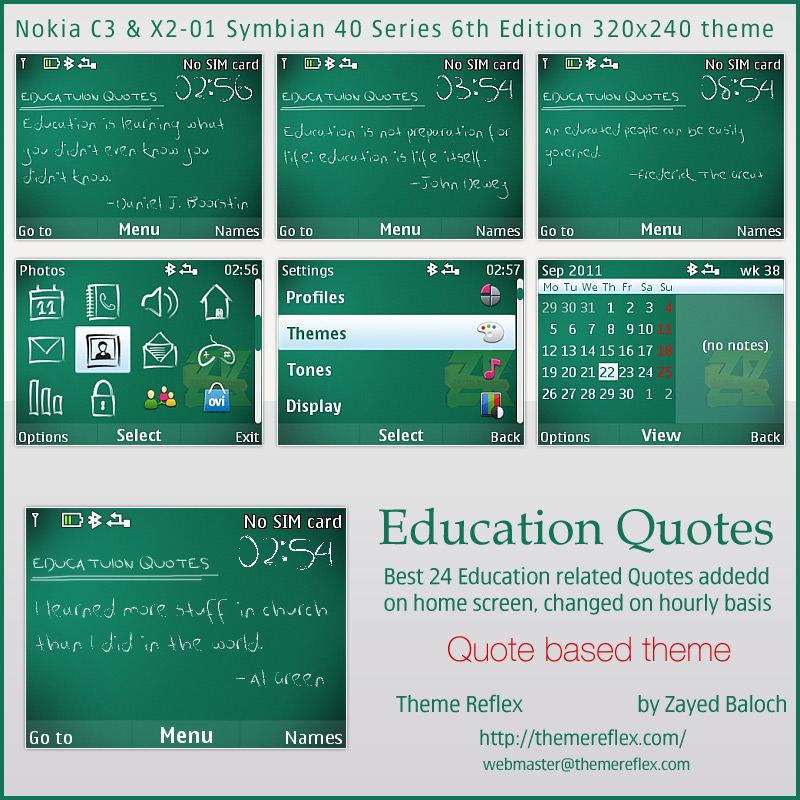 Education Quotes Nokia themes