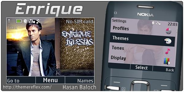 Enrique Iglesias Nokia theme