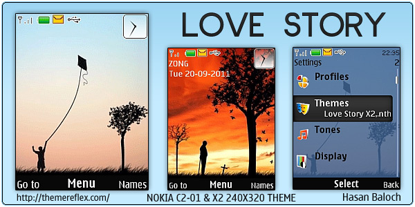 Love Story theme for Nokia