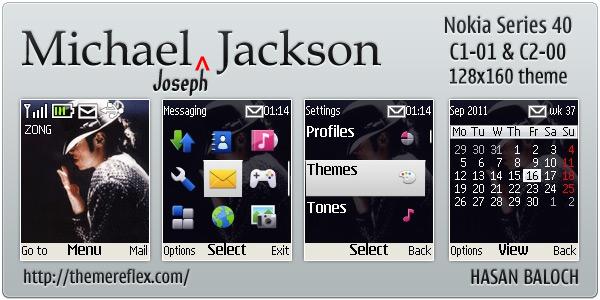 Michael Jackson Nokia themes