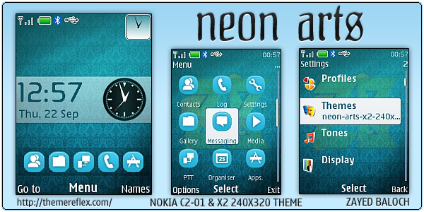 Neon Arts Nokia themes