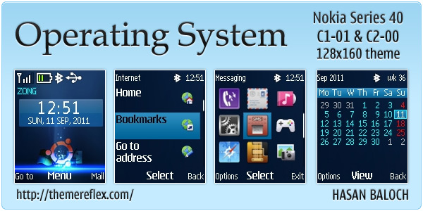 Operating System themes
