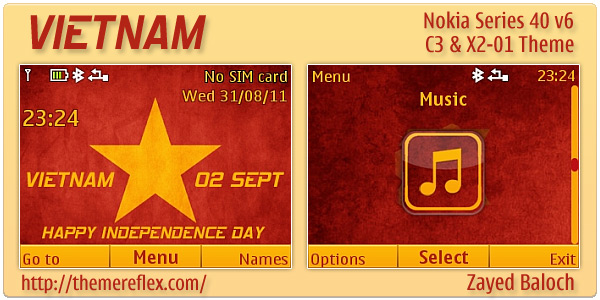 Vietnam Independence Day theme