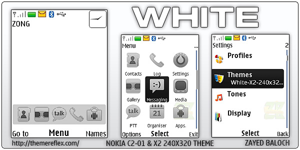 Nokia White theme