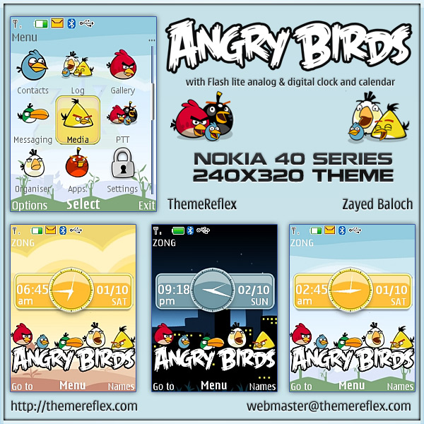 Angry birds for nokia x2 c2 01 amp 240 215 320 updated themereflex