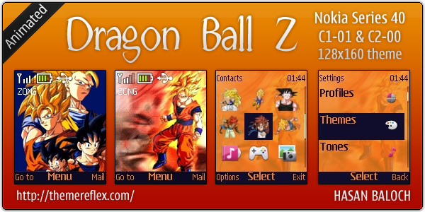 Dragon ball z screensaver with theme song (download) youtube.