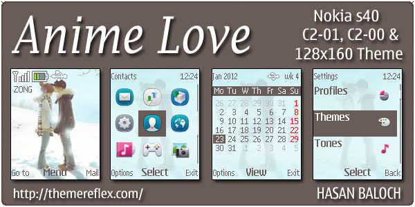Themes Love For Nokia C6 00