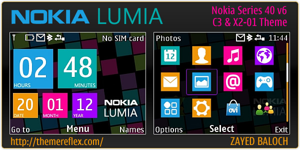 friends, today we are presenting another Lumia series theme for Nokia