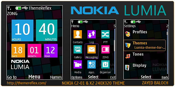 windows phone theme for nokia c2-01