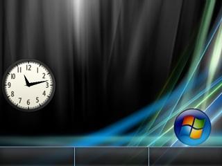 Windows Vista Flash lite screensaver for 320×240