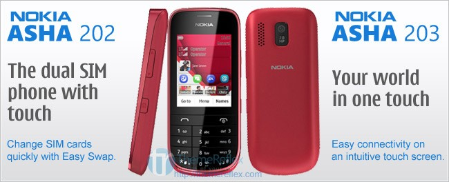 Nokia adds 3 more to Asha Family
