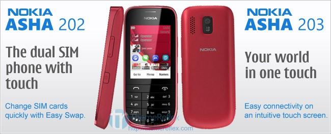 Nokia adds 3 more to Asha Family