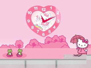 Hello Kitty flash lite screensaver for 320×240