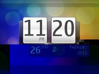 HTC Desire live wallpaper for 320×240