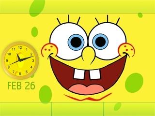 Spongebob Flash lite screensaver for 320×240