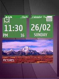 Windows Phone screensaver for 240×320
