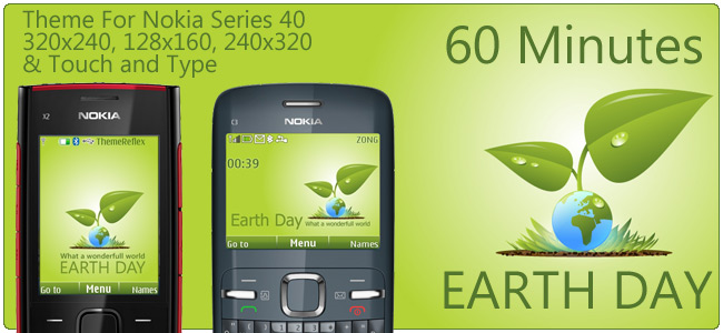Earth Hour 60 Minutes with Nokia Series 40 Phones