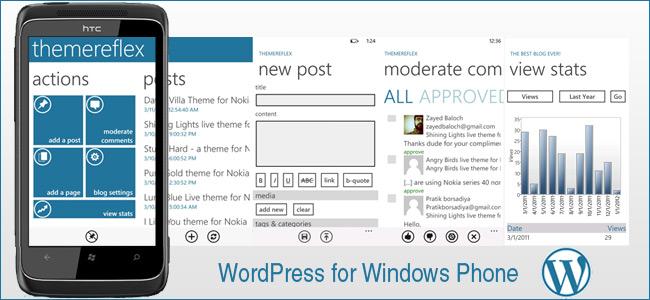 WordPress for Mobile: Windows Phone
