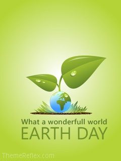 Earth Day Nokia flash lite screensaver for 240×320