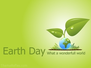 Earth Day Nokia flash lite screensaver for 320×240