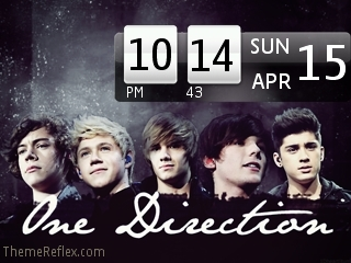 One Direction Nokia flash lite screensaver for 320×240