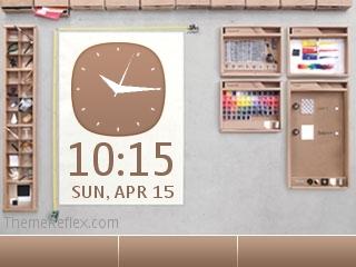 Photoshop Nokia flash lite screensaver for 320×240