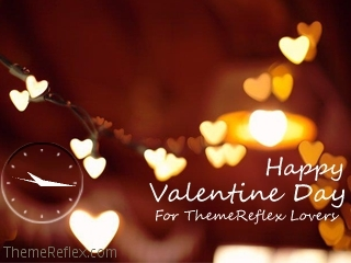 Valentine Day Nokia flash lite screensaver for 320×240