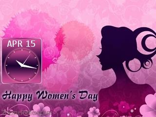 Women Day Nokia flash lite screensaver for 320×240