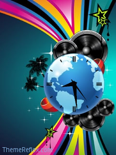 World of Music Nokia Flash lite screensaver for 240×320