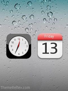 iPhone 5 Nokia flash lite screensaver for 240×320