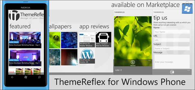 ThemeReflex for Windows Phone