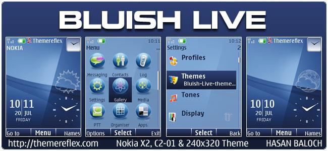 Blue Live Theme – ThemeReflex