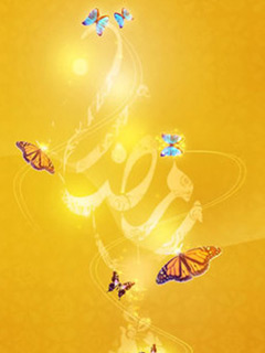 Ramadan Butterfly wallpaper for Lumia windows phone