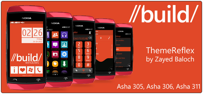 Build Windows theme for Nokia Asha 305, Asha 306 & Asha