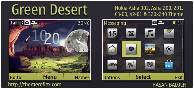 Kumpulan Tema Nokia C X Asha Part