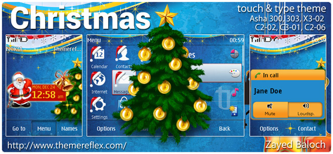 Christmas-asha300-asha302-tnt-theme-by-zb