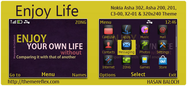 Enjoy-Life-C3-theme-by-hb