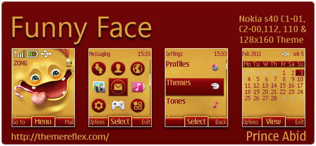 Funny-Face-C1-theme-by-hb