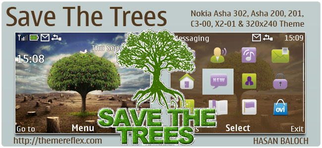 Save-Trees-C3-theme-by-hb