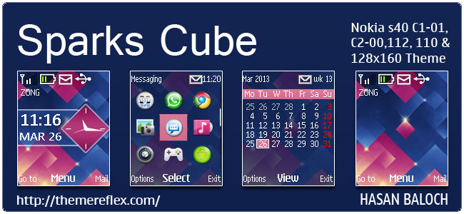 Sparks-Cube-C1-theme-by-hb