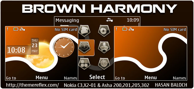 Brown-Harmony-C3-theme-by-hb