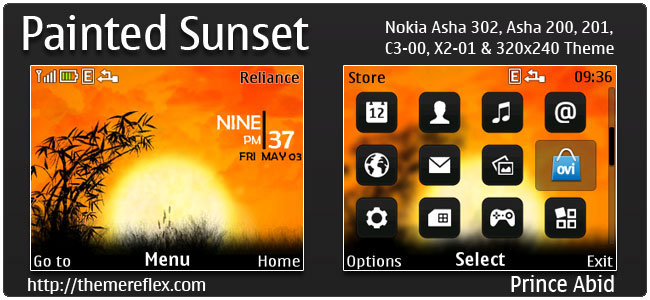 Painted-Sunset-C3-theme-by-pa