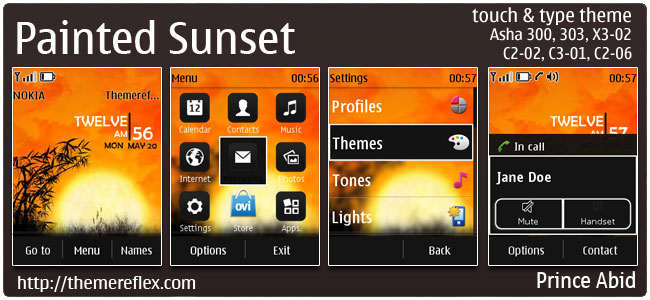 Painted-Sunset-TnT-theme-by-pa