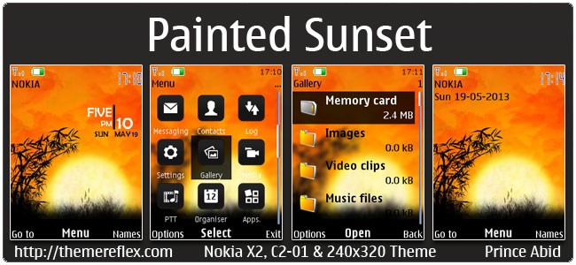 Painted-Sunset-X2-theme-by-pa