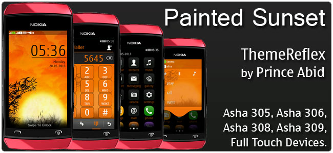 Painted-Sunset-full-touch-theme-by-hb