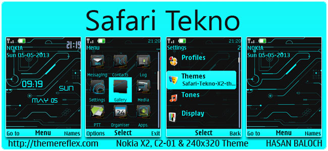 Safari-Tekno-X2-theme-by-hb