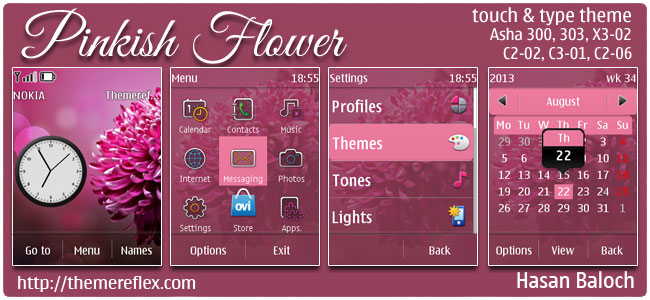 Pinkish-Flower-TnT-theme-by-hb