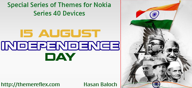 15 August – India Independence Day Themes for Nokia series 40 devices